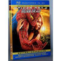 正版现货包发票蓝光电影DVD 蜘蛛侠2 BD50 蓝光4K高清 BD50 科幻动作