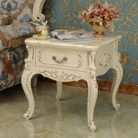 欧式沙发边几角几客厅转角方桌简约现代边柜茶几轻奢创意双层边几