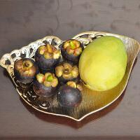 创意镂空陶瓷果盘 欧式干果盘水果盘零食盘瓜子盘托盘糖果盘果盆