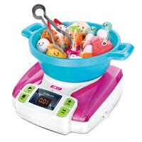 儿童厨房玩具套装煮饭做饭仿真厨具电动火锅过家家小孩男孩女孩