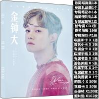 EXO金钟大写真集chen周边专辑周边签名海报明信片歌词本生日礼物