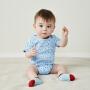 【2件3.8折】迷你巴拉巴拉男女宝宝三角衣夏装新款新生儿纯棉连体衣婴儿和尚服三件