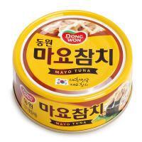 韩国Dongwon东远蛋黄酱金枪鱼罐头100g 宝宝辅食营养即食儿童食品