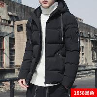 男士外套冬季2018新款棉衣潮流韩版修身羽绒棉袄短款加厚帅气