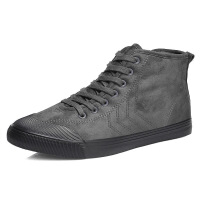 DAZED CONFUSED冬季男高帮加绒棉鞋保暖潮鞋防滑休闲鞋