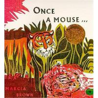 Once a Mouse 英文原版儿童书 从前有一只老鼠(凯迪克金奖绘本)
