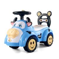 儿童车带音乐滑行宝宝四轮学步助车玩具1-3岁