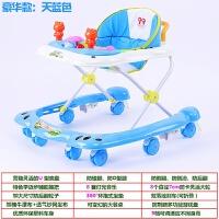 宝宝学步车可坐手推车婴儿童学步车男宝宝婴幼儿手推可坐防侧翻多功能女孩男孩