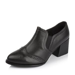 Tata/他她专柜同款小牛皮女单鞋FE120CM6