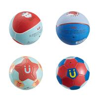 婴儿宝宝3号球类玩具 小皮球儿童篮球足球幼儿园皮球拍拍球