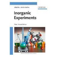 【预订】Inorganic Experiments 3E
