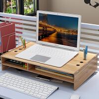 笔记本电脑显示器办公室桌面收纳盒整理置物架子