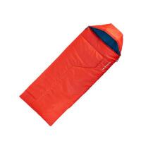 羽绒睡袋儿童户外运动被子便携舒适儿童睡袋保暖舒适专柜10°C露营 橘红色
