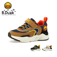 【4折价:107.6】B.Duck小黄鸭童鞋男童运动鞋新款男孩透气防滑休闲鞋潮鞋B3083055