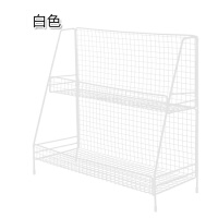 铁艺双层置物架 浴室厨房用品整理架家用桌面杂物收纳架