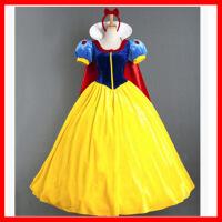 万圣节角色扮演冰雪奇缘艾莎成人白雪公主裙舞台演出cosplay2