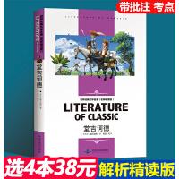 堂吉诃德 中小学生新课标必读 世界经典文学名著 名师精读版
