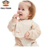 TWA3174473大嘴猴(Paul Frank) 婴儿围嘴 宝宝口水巾小主播围兜22x20cm 4条/袋