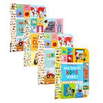 【中商原版】百科午餐盒系列3册 英文原版 Lunchbox 儿童科普绘本 衣食住