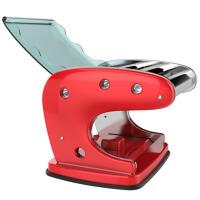 家用压面机手动不锈钢手摇小型饺子皮拉面机制面机