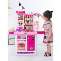 儿童厨房玩具套装仿真厨具做饭女童女孩煮饭过家家宝宝3-6岁7