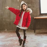 冬季女童羽绒2018新款冬季儿童女孩棉袄洋气短款大童冬装外套棉衣秋冬新款
