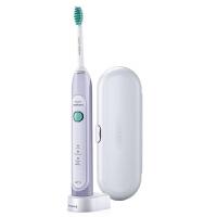 飞利浦电动牙刷HX6721 成人充电式声波震动牙刷净白牙齿附旅行盒