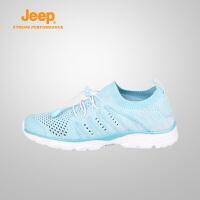 【特惠价】Jeep/吉普 女士轻质防滑减震户外鞋越野徒步鞋J811081721