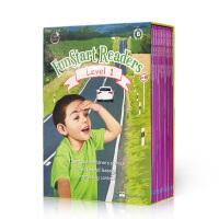 【全店300减100】英文原版读物FunStart Readers 彗星英语 分级阅读物 Level 1B 12册 儿童