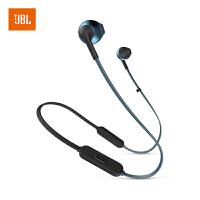 【当当自营】JBL TUNE205BT 靛蓝色 无线蓝牙耳机 运动耳机 T205BT半入耳式音乐耳机 带麦手机可通话