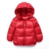 冬季儿童加厚面包款羽绒服轻薄短款男童女童小童大童宝宝外套秋冬新款