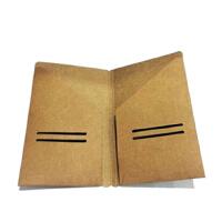 韩系旅行者笔记本牛皮纸内芯配件票据袋满包邮纵横*