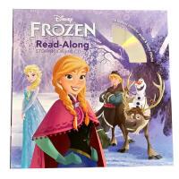 Frozen Read-Along Storybook and CD冰雪奇缘有声书 迪士尼绘本