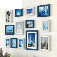 小清新照片墙九宫格相框挂墙组合墙壁小墙面上个性创意相框墙装饰