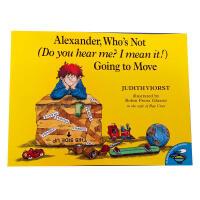 【全店300减100】英文原版Alexander, Who's Not Going to Move汪培�E第五阶段菜单推荐