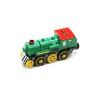 电动小火车头 木质火车轨道车木制拖马斯轨道男孩儿童玩具3岁
