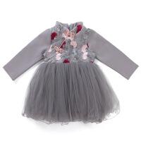 女童连衣裙秋装2018新款韩版儿童长袖裙子秋季女孩时尚洋气童装潮