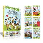 Ready-to-Read Read with the Peanuts Gang 英文原版 6册盒装 level 2