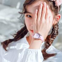 儿童手表女孩防水小学生中学可爱初中少女心电子女款韩版简约时尚