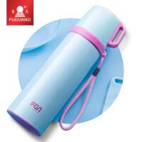 保温杯冬季男女士大容量保暖水杯便携儿童茶杯可爱学生杯子