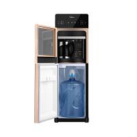 美的(Midea)饮水机立式冷热型高端水桶下置式家用办公触控大屏饮水器YD1519S-X