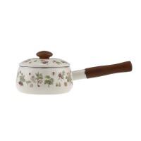 搪瓷奶锅小汤锅 电磁炉通用奶锅泡面锅