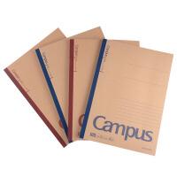 KOKUYO国誉牛皮纸笔记本 Gampus记事本学生文具商务点线作业本