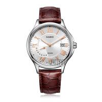 卡西欧CASIO手表时尚休闲防水简约石英腕表商务男表MTP-E116D-1A
