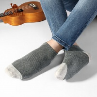 骆驼袜子男短袜男士船袜棉质防臭吸汗短筒袜夏季薄款低帮浅口袜潮