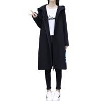 女装秋装韩版宽松显瘦风衣女中长款过膝大码连帽外套