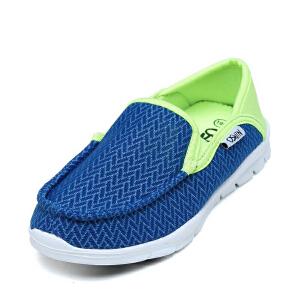 鞋柜OSWIN/奥思文春季童鞋单鞋松紧鞋扣轻便鞋底男童时尚休闲鞋
