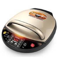 利仁 美猴王电饼铛家用双面加热烙饼锅煎饼机电饼档自动断电 可拆洗下盘液晶显示屏
