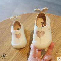 新款小童鞋女童公主皮鞋儿童单女宝宝鞋子一周岁婴儿学步软底