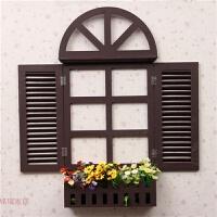 家居饰品地中海风格假窗欧式假窗户壁挂田园电表箱壁饰墙面装饰 特